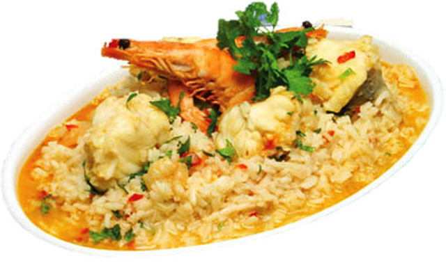 Arroz de Marisco com Tamboril