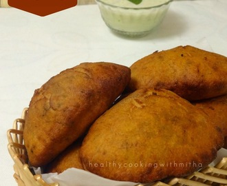 Mangalore Buns | Whole Wheat Banana Puris