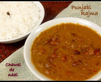 Punjabi Rajma [with Freshly Ground Masala]