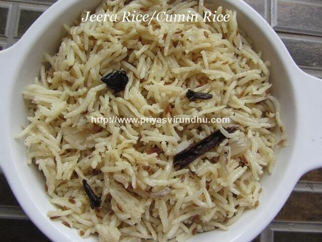 Jeera Rice/How to make Jeera Rice/Cumin Rice/Jeeraga Sadham