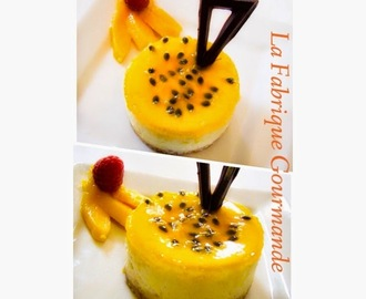 Cheesecake Fruit De La Passion - Mangue