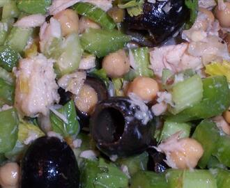 Tuna and Garbanzo Bean Salad