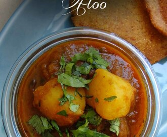 Mathura Aloo – Potatoes in fenugreek and tomato gravy