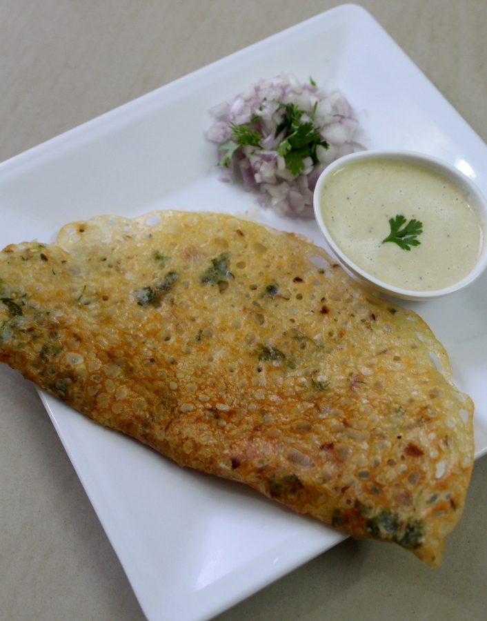 Rava Dosa Recipe South Indian Instant and Crispy, Sooji Dosa | Onion Rava Dosa