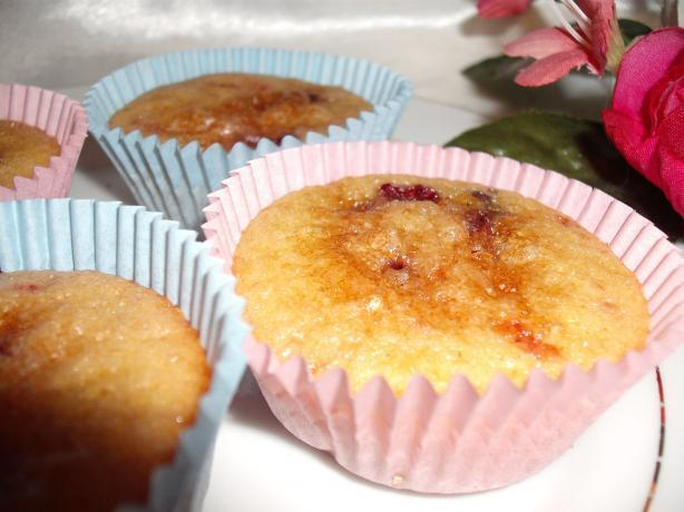 Wonderful Strawberry and Blueberry Muffins (Or Cupcakes)