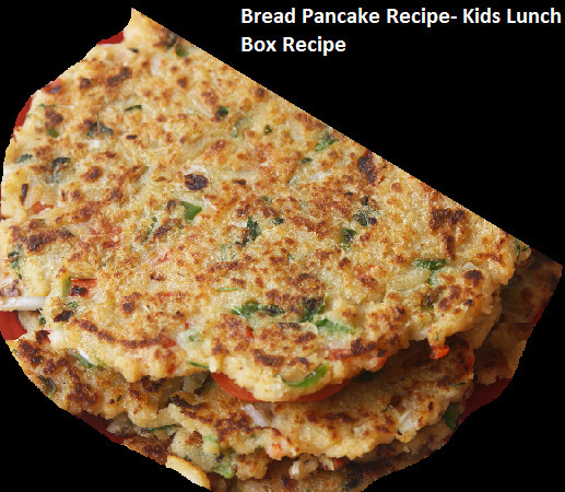 Bread Pancake recipe healthy & delicious breakfast recipe