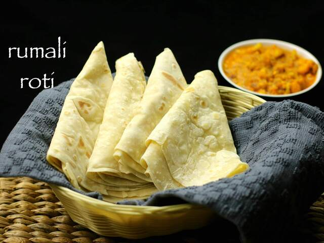 rumali roti recipe | roomali roti recipe | easy roti recipe
