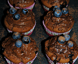 Go Cooking: Nutella&Blueberry Muffins