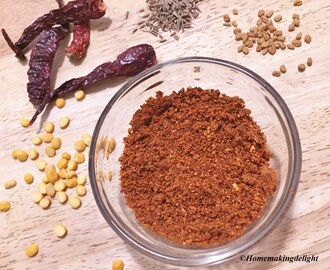 Instant Sambhar Powder Recipe – DiY Sambhar Mix