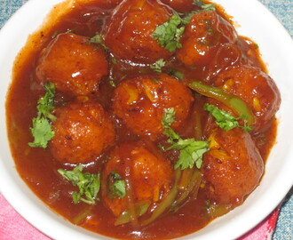 SWEET CORN MANCHURIAN GRAVY RECIPE (Chinese Style)