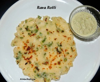 Rava Rotti Recipe