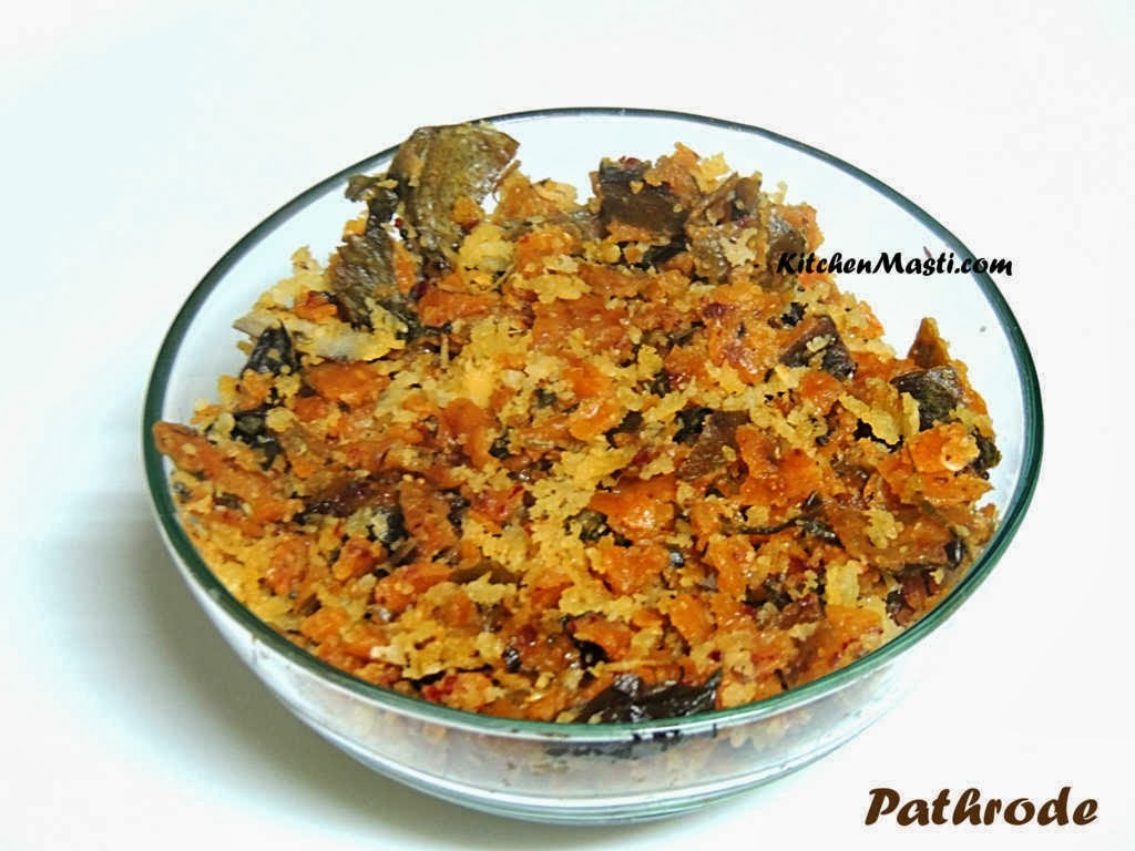 Pathrode Recipe - Udupi Mangalore Style