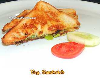 Veg Sandwich Recipe
