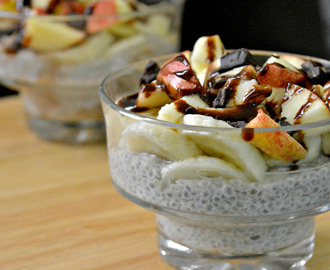 Chia Seeds Yogurt Pudding