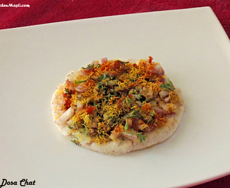 Dosa Chaat Recipe