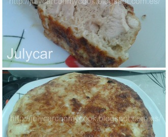 Pastel de pollo al laurel light