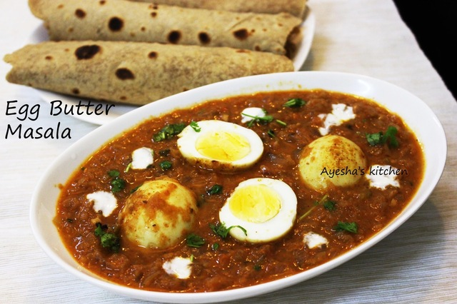 EGG RECIPES - EGG BUTTER MASALA GRAVY / EGG MAKHANI RECIPE