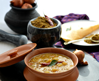 Gobi sambar | Cauliflower lentils South Indian stew