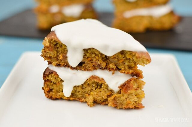 Best Ever Low Syn Carrot Cake