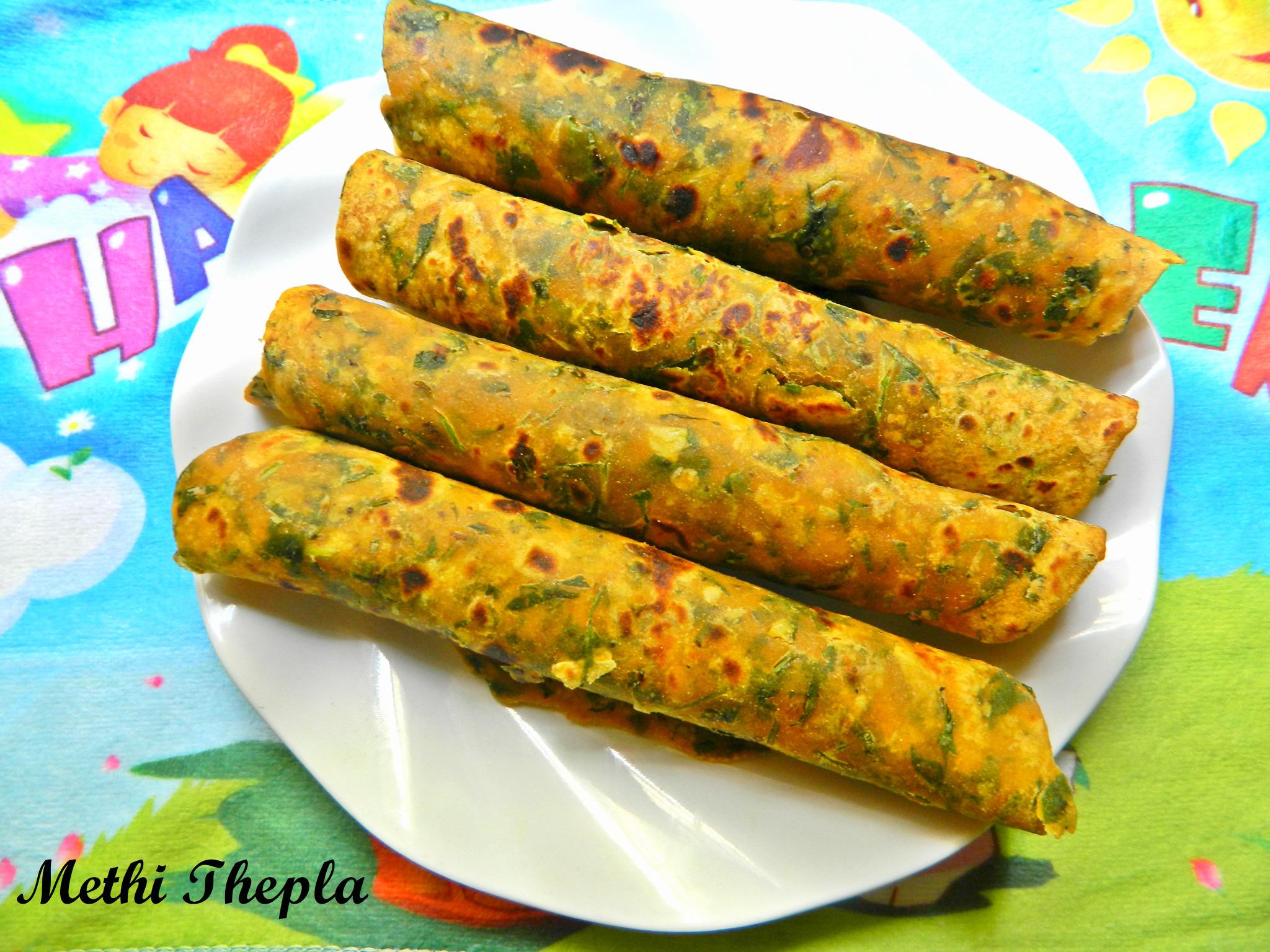 how to make thepla gujarati dish