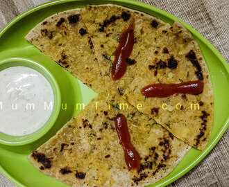 Gobi Paratha / Cauliflower Paratha Recipe