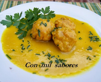 ALBONDIGAS AL CURRY
