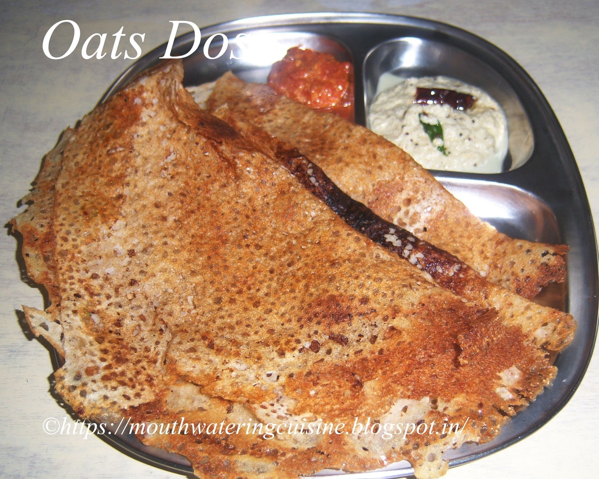 Oats Dosa Recipe -- Oats Recipes -- Instant Oats Dosa Recipe