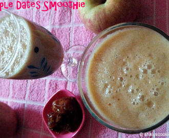 Apple Dates Smoothie