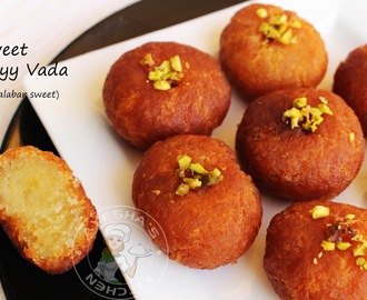MALABAR NEY VADA RECIPE - INDIAN SWEETS / YUMMY DESSERTS