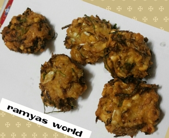 CABBAGE CHANNA DAL VADA