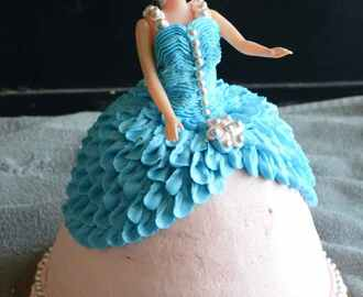How To Make a Barbie Doll Cake / Doll Cake – Video