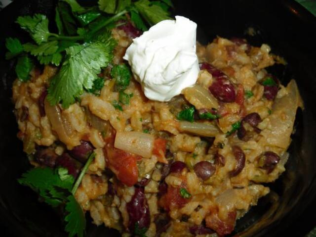 Vegetarian Beans and Rice