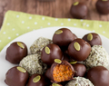 Vegan Carrot Cake Truffles | A Sugar-free, Paleo Easter Recipe