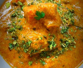 badami chicken korma, almond chicken gravy - almond boneless chicken recipe