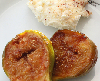 Figos Caramelizados com Mascarpone e Avelãs | Caramelized Figs with Mascarpone and Hazelnuts