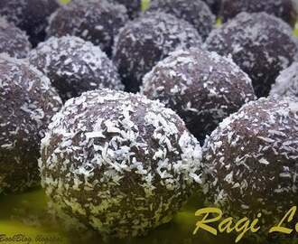 Ragi Laddu - Finger Millets Laddu Recipe - Ragi Ladoos