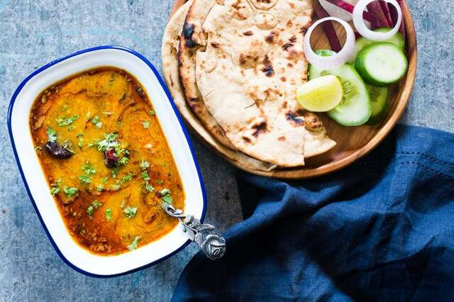 Dhaba Dal Tadka (Tempered Lentil Curry)