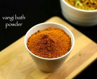 vangibhath masala powder recipe | vangi bath powder recipe