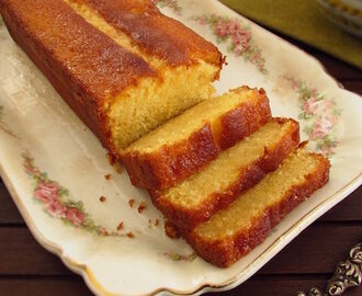 Soaked lemon cake | Food From Portugal