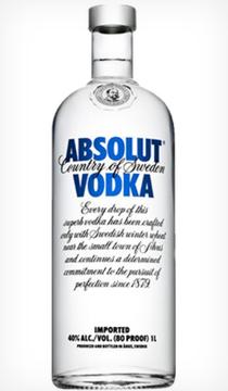 Absolut Vodka 1 lit