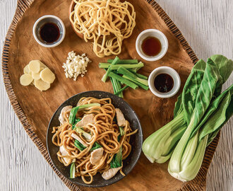 Jet Tila's Surprisingly Simple Lo Mein Noodles Recipe | InStyle.com