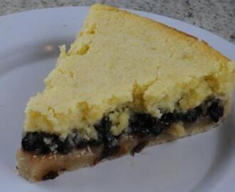 Semolina Tart With Black Currants (Burgundy, France)