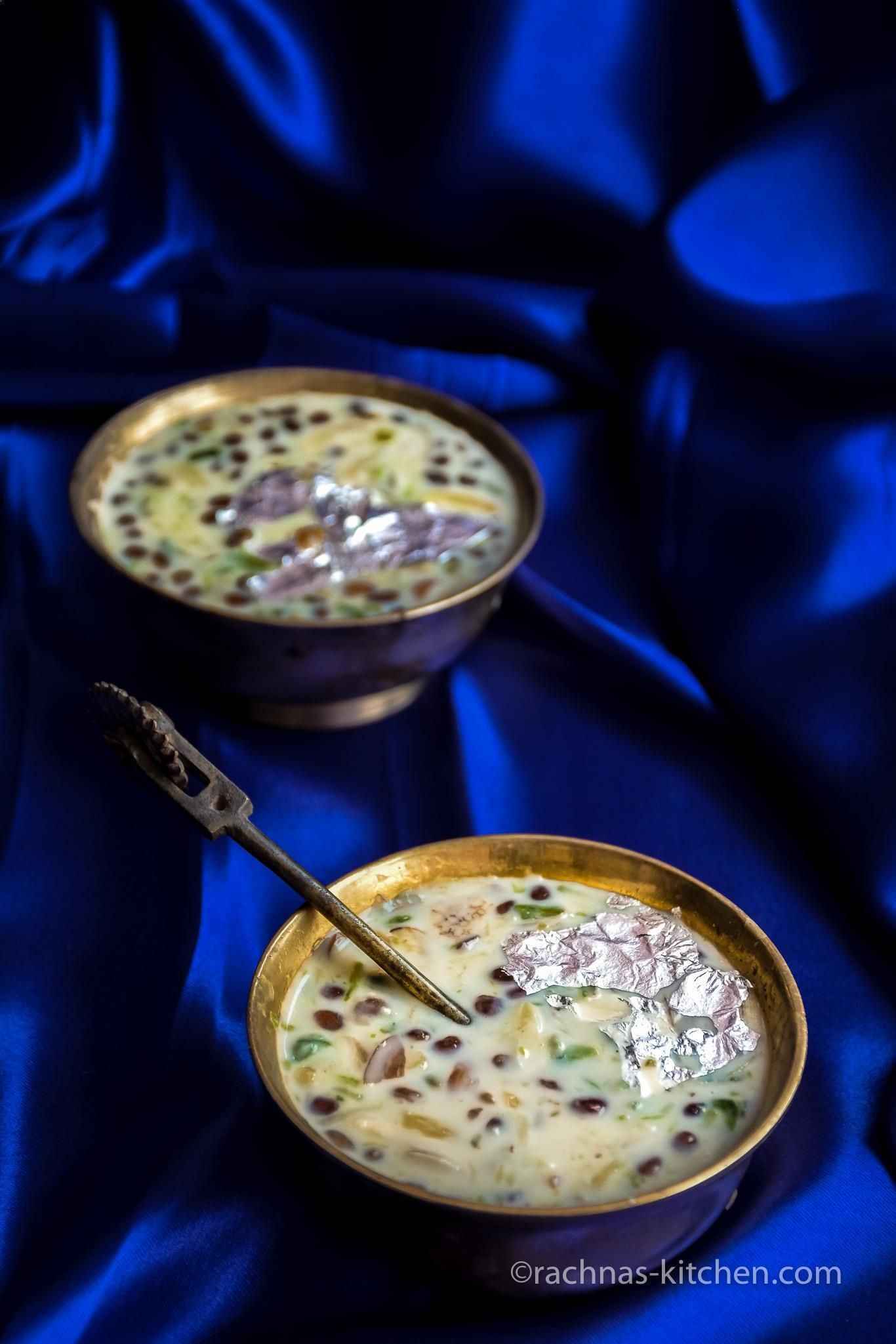 Basundi recipe, Basundi Recipe With Condensed Milk