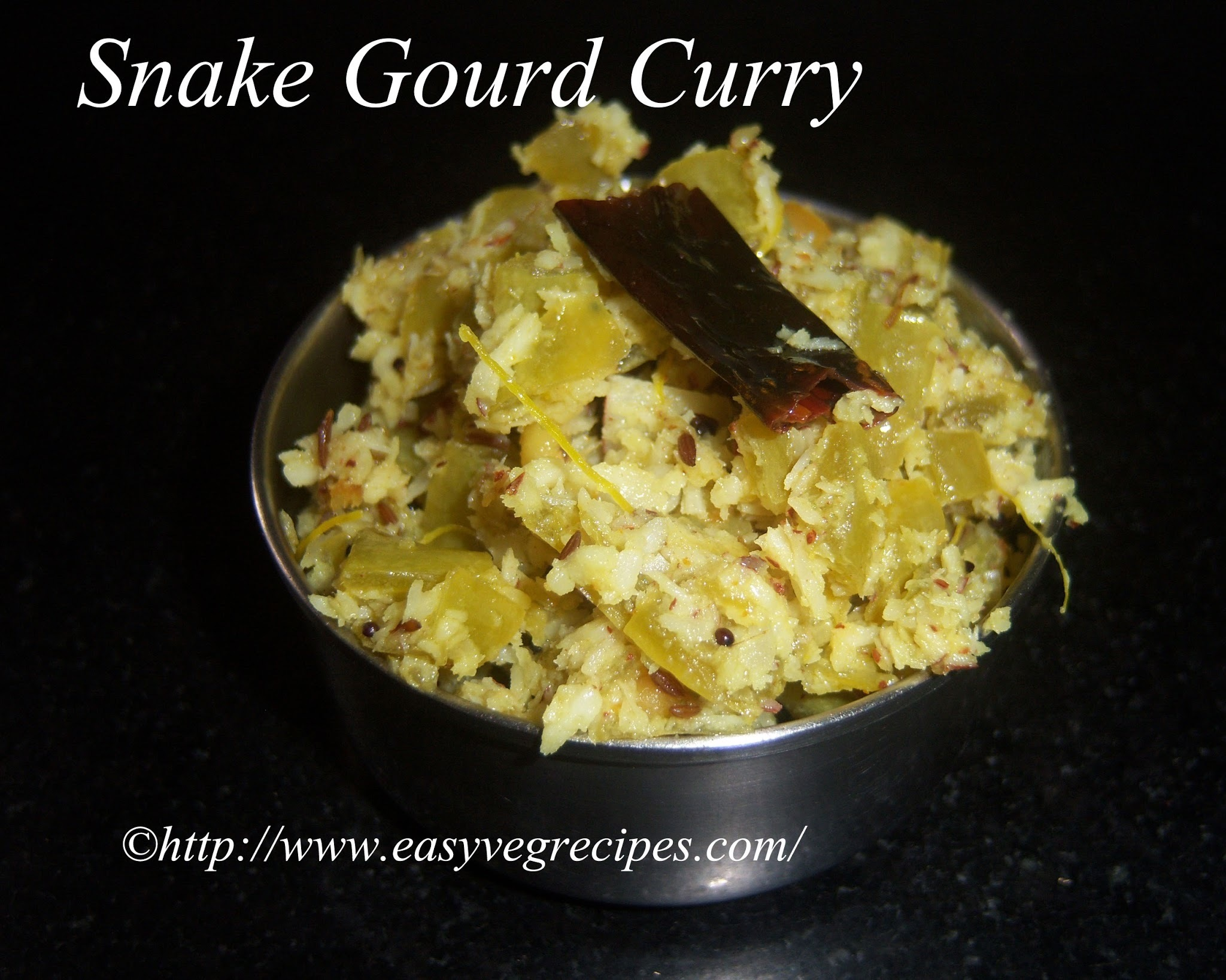 Snake Gourd Curry Recipe -- How to make Snake Gourd Curry