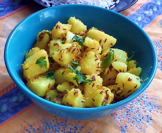 Jeera Aloo recipe – Roast potatoes with cumin seeds