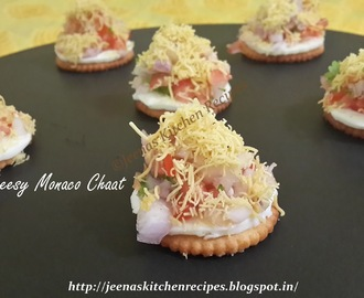 Cheesy Monaco Chaat
