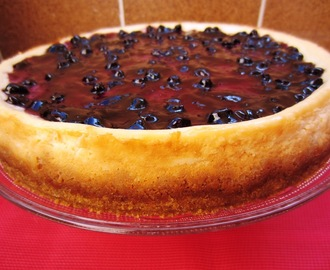 TARTA DE QUESO CON ARÁNDANOS (NEW YORK CHEESE CAKE)