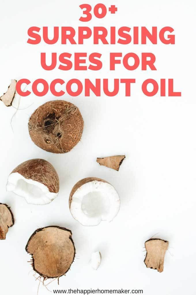 30+ Surprising Uses for Coconut Oil