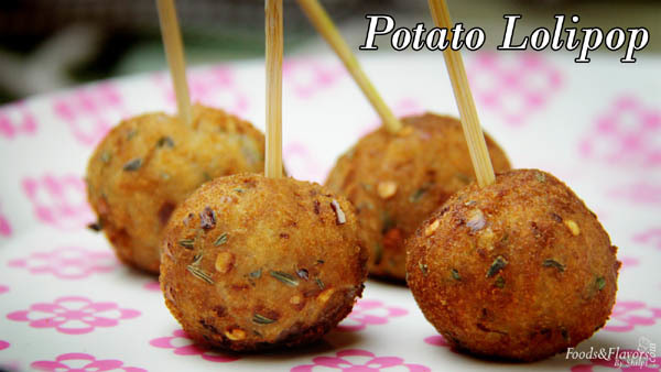 Potato lollipop | Kids Snacks Recipes | Indian Snacks Recipes