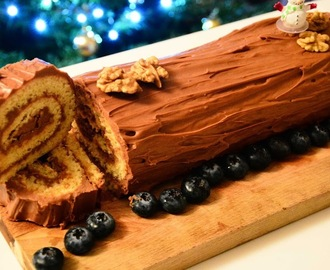 Bûche de Noël: The French Christmas log cake